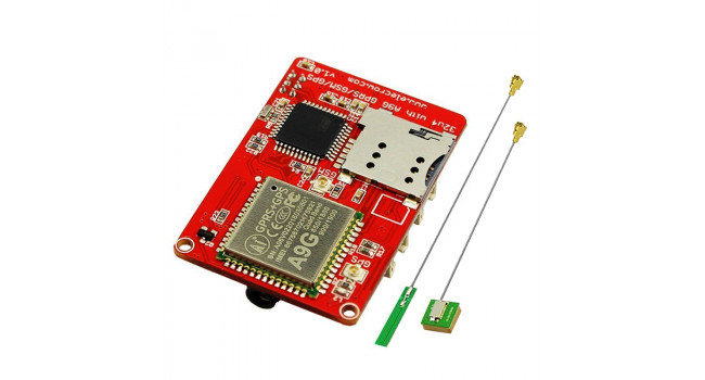32U4 with A9G GPRS GSM GPS Board